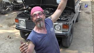 Range Rover Classic mit Nissan QD32 Turbo Umbau ( Deutsch)