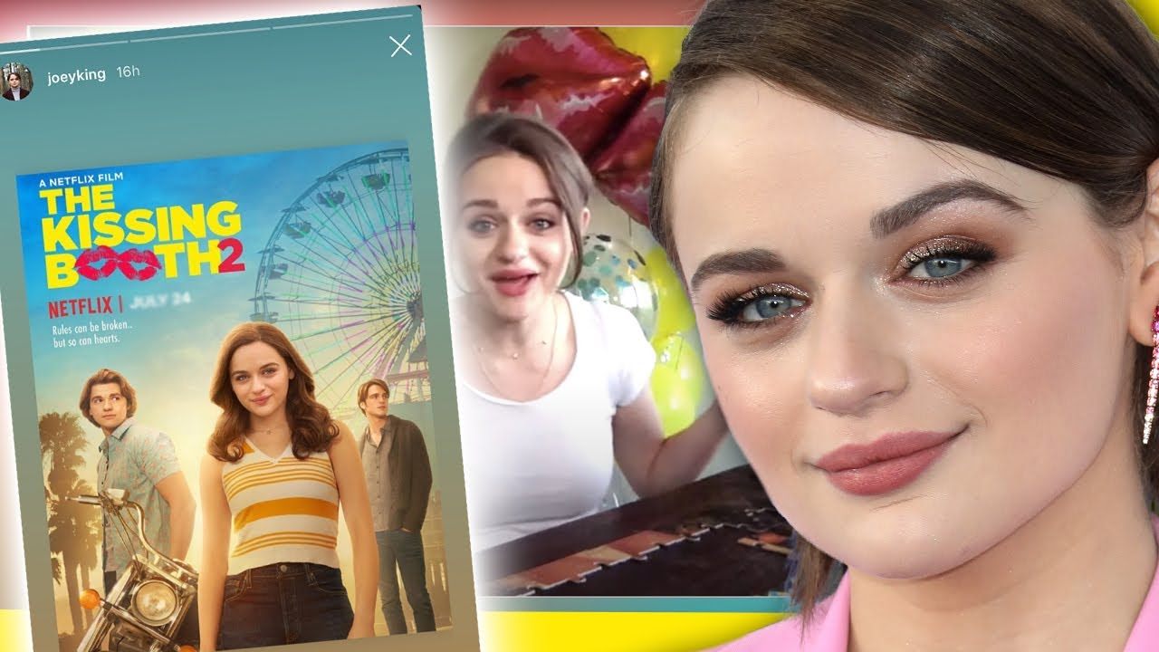 Joey King is here to REVEAL the Kissing Booth 2 release date and spills BTS moments!