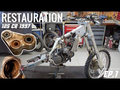 HONDA 125 CR 1997 / RESTAURATION - REBUILD / Partie 2 !