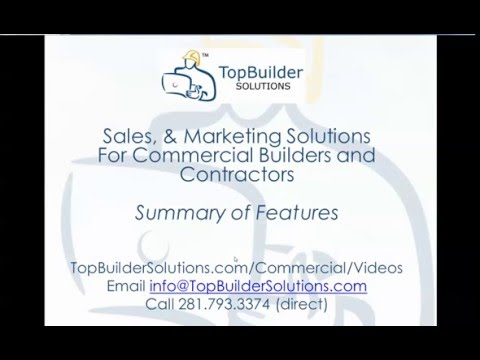 TopBuilder Solutions Feature Summary (6:22 minutes)