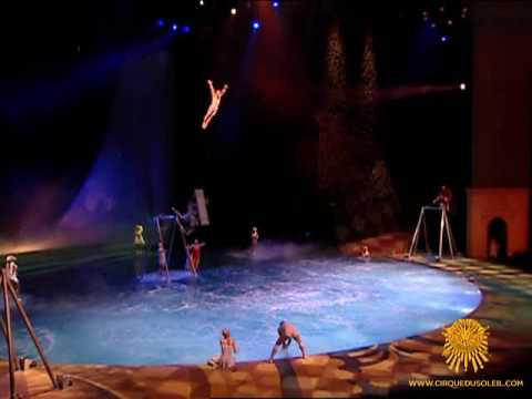 """""""O"""" by Cirque du Soleil - Russian Swing Act"""