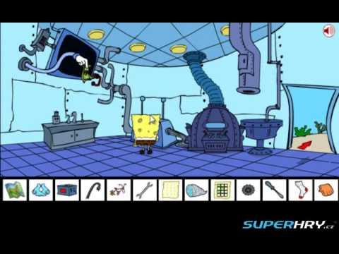 Spongebobovy nesnáze - návod Superhry.cz