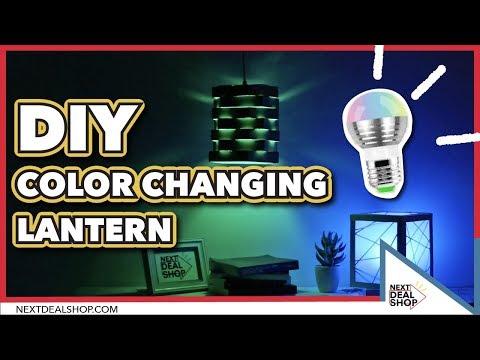 DIY Your Own Color Changing Lantern - Magic RGB Light Bulb - Next Deal Shop