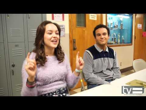 Haley Orrantia & Troy Gentile   The Goldbergs Season 3