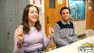Haley Orrantia & Troy Gentile Interview - The Goldbergs Season 3