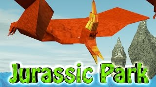 minecraft dinosaurs   jurassic craft modded survival ep 44 flying dinosaur cage