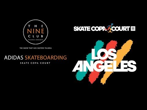 """Adidas """"Skate Copa Court"""" Los Angeles 