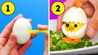 45 COOL AND DELICIOUS EGG HACKS