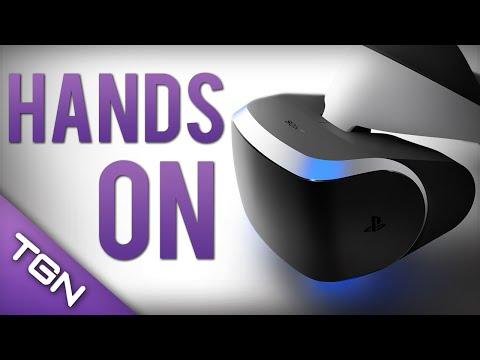 Project Morpheus : Hands-On Gamescom 2014 Gameplay Demo