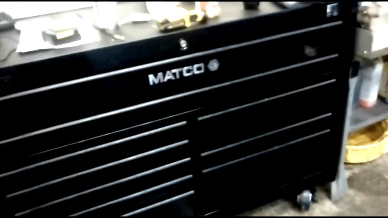 Matco 4s Double Bay Rollaway Tool Box with Power Drawer - Review