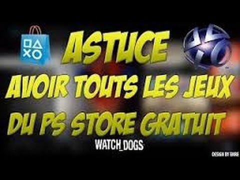 comment avoir des jeux gratuit sur ps4 fr youtube. Black Bedroom Furniture Sets. Home Design Ideas