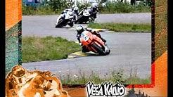 Road Racing slow motion video - Vesa Kallio & KTM RC8