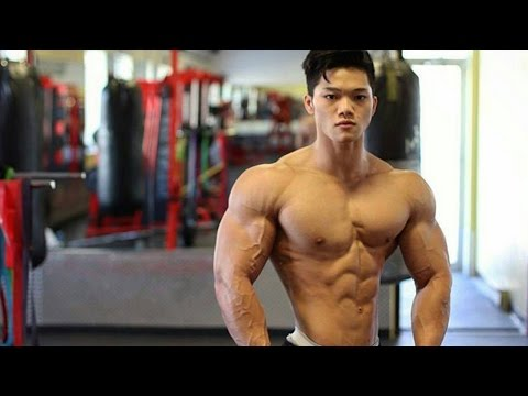 Baby Face Beast Rechie Wong | Shredded Fitness Model Workout