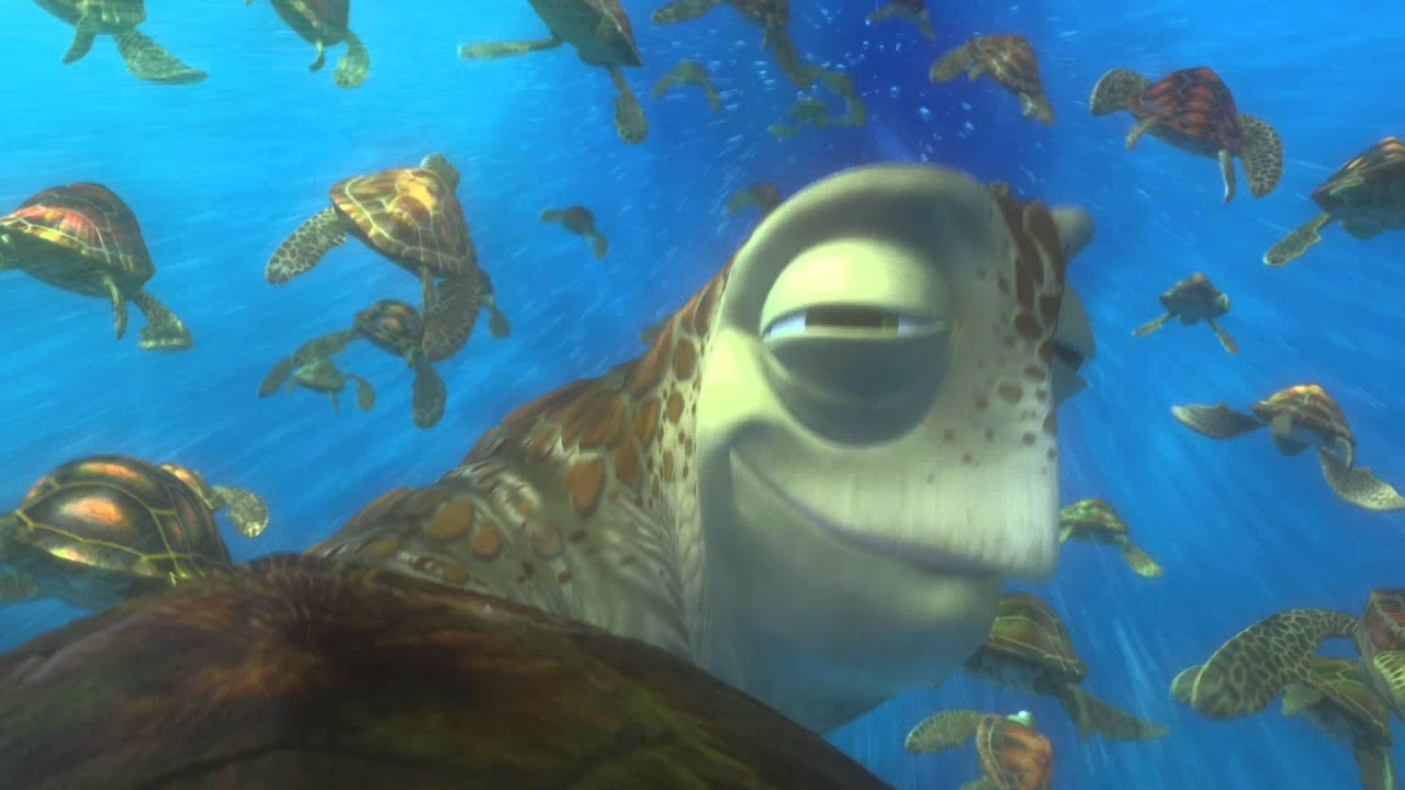Dinosaur 3d Live Wallpaper Finding Nemo 3d Clip Exit Buddy Youtube