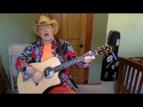 2035 -  Desperados Waiting For A Train -  Guy Clark vocal & acoustic guitar cover & chords