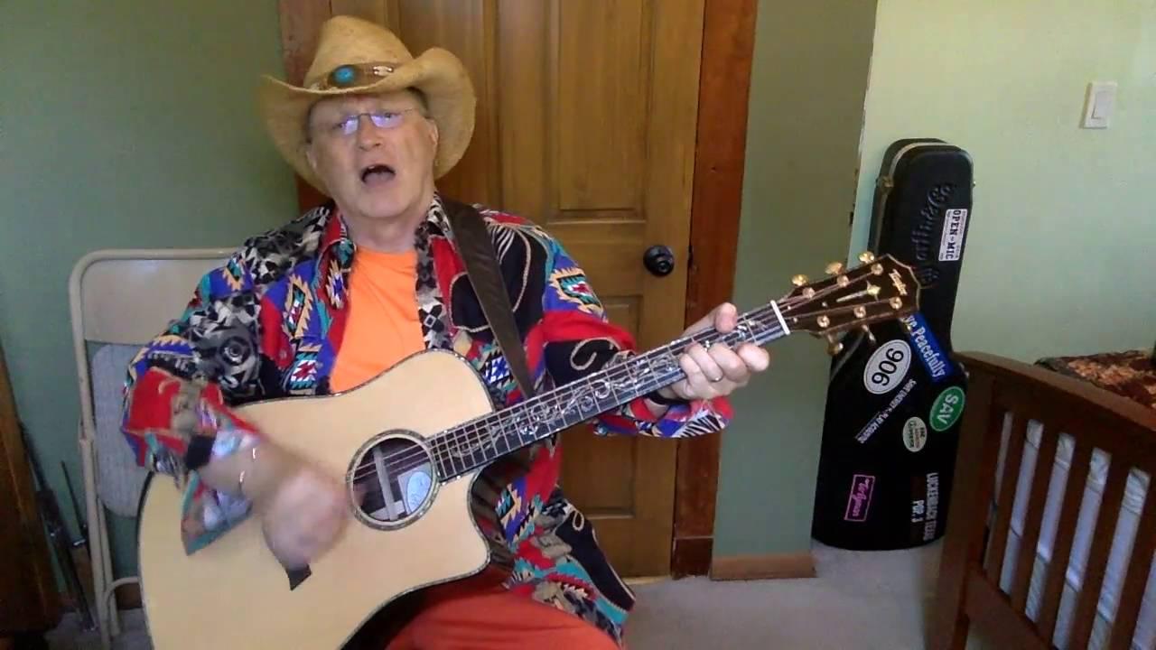 2035 Desperados Waiting For A Train Guy Clark Vocal Acoustic Guitar Cover Chords Youtube