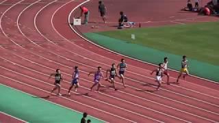 高男100m 決勝 2017博多の森カーニバル