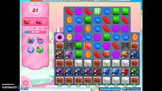 Candy Crush Level 502 Audio Talkthrough, 1 Star 0 Boosters