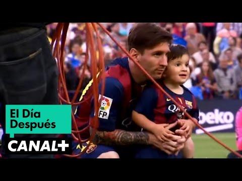 El Día Después (24/05/2015): Papá Messi: El Barça celebraba el primer título de la temporda con un Messi en segundo plano y siempre pendiente de su hijo Thiago. .  Todos los programas completos de EDD en YOMVI: http://goo.gl/tger6l  Mucho más de El Día Después en http://www.plus.es/eldiadespues/  No olvides suscribirte, todos los vídeos cada lunes en el canal oficial de El Día Después en YouTube: http://www.youtube.com/user/eldiadespuesplus?sub_confirmation=1