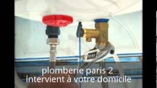 Plombier paris 2 : Plombier paris 2 intervient à votre domicile en moins d'une heure(, 2013-05-08T08:18:42.000Z)