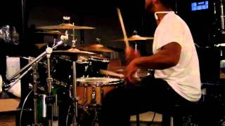 Chuck C. Aaliyah more than a Woman Live Drum Cover