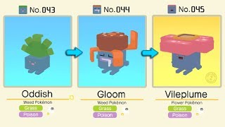 Oddish Evolved Into Gloom  Vileplume  Pokémon Quest All Bosses  Pokémon Evolution Tips and Guides