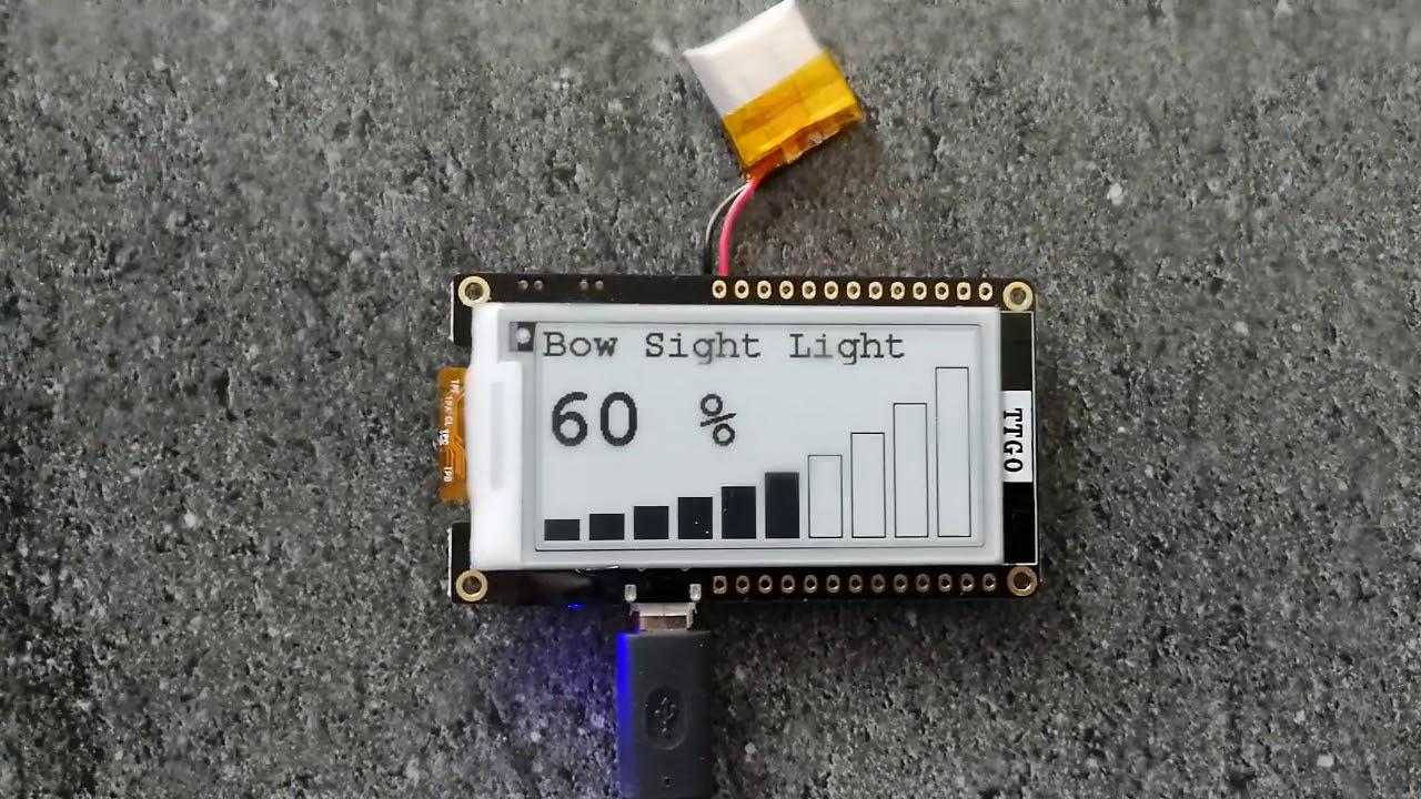 ESP32 e-paper TTGO T5 V2 0 testing