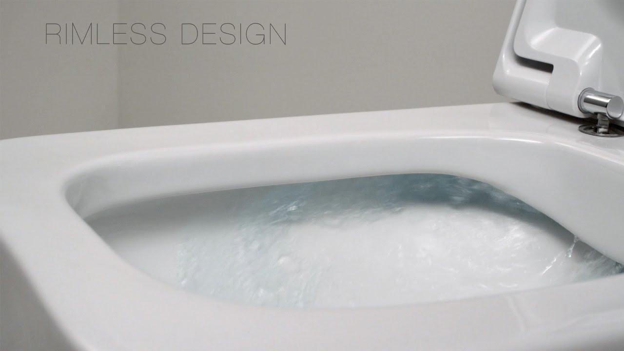 Roca Rimless Toilet Technology