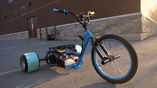 Making an Electric Drift Trike (COLIN FURZE STYLE)