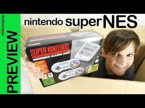 Nintendo superNES classic mini unboxing