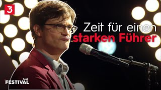 Bodo Wartke schafft die Demokratie ab – musikalisch