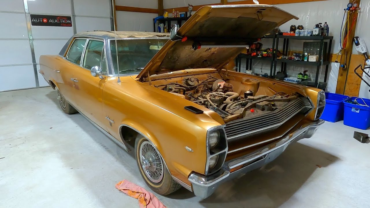 Barn Find 1967 AMC Ambassador First Drive in 14 Years!!
