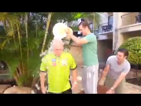 ALS Ice Bucket Challenge | Michael van Gerwen