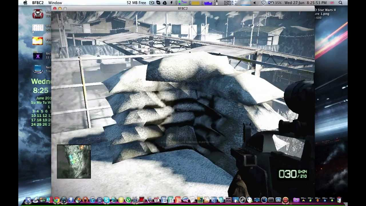Battlefield Bad Company 2 On Mac Youtube