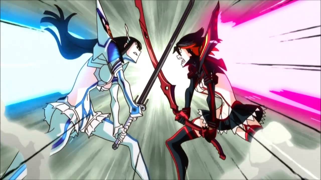Image result for kill la kill fight scene