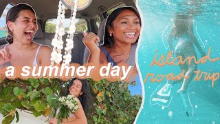 summer day in my life: island road trip on oahu vlog