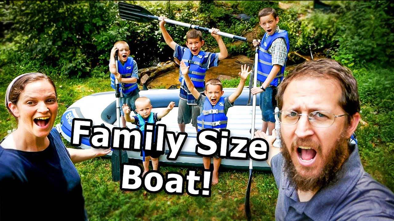 We bought a BOAT ... for the WHOLE FAMILY