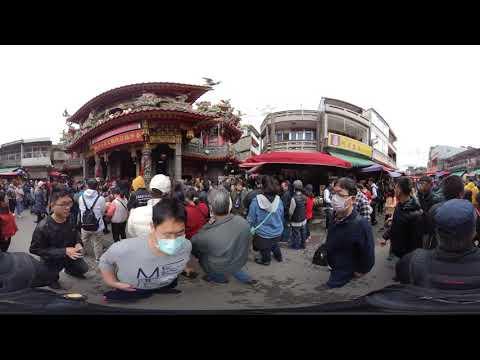 360度全景拍攝白沙屯拱天宮大年初三(20200127)