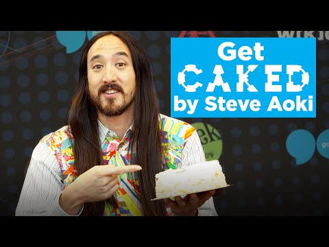 Steve Aoki wants to cake you in Vegas…for charity