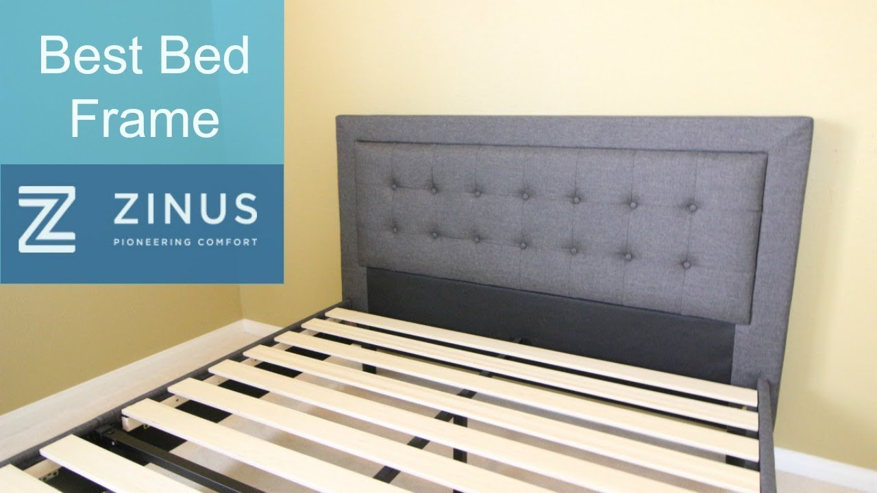 Best Bed Frame Zinus Compact Square Platform Review