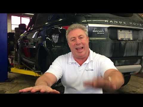 Tire swap on a Land Rover - Range Rover