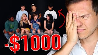 Millionaire Reacts: 7 High Schoolers Decide Who Wins $1000
