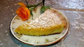 Лимонно-Яблочный Пирог из ПесочногоТеста