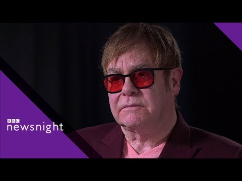 Full Interview with Sir Elton John - BBC News