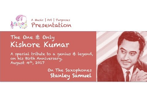 The Ultimate Saxophone Collection | A Tribute To Kishore Kumar | Stanley Samuel | #256