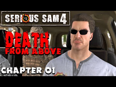 Serious Sam 4 - Death From Above chapter 01 Gameplay playthrough 1080p/60fps |