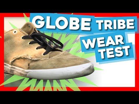 Globe Tribe Skate Shoe Wear Test With TJ Ackfeld