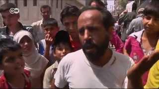 Сирия: жители Алеппо спасаются бегством