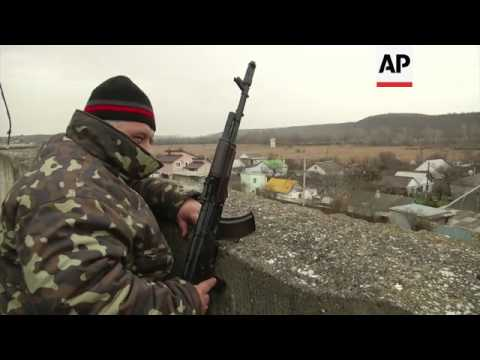Ukrainian soldiers trapped at base on lack of orders, families