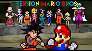 Dragon Ball Super Opening - Limit Break x Survivor - Retro Mario bros version